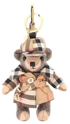 Burberry Thomas Bear cashmere bag charm
