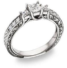 I love this vitorian princess ring