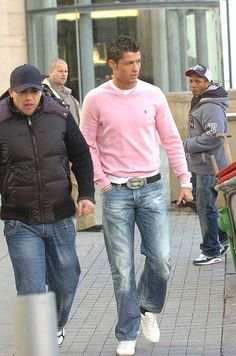 Cristiano Ronaldo - looking beautiful in pastels!
