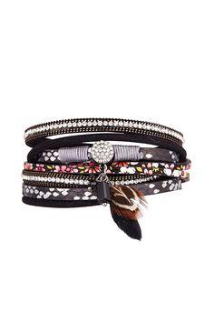 Vente LA CHIQUITA / 23725 / Manchettes et bijoux de sac / Manchette Noir