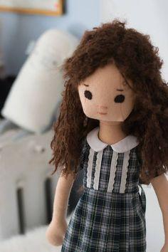 Rag Doll with Retro Wardrobe  Phoebe&egg