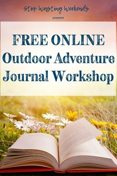 If a field notebook and a bullet journal had a baby it would be the Outdoor Adventure Journal! Outdoor Gear Review, Bullet Journal How To Start A, Creativity Quotes, Field Notes, Nature Journal, Practical Gifts, Planner Organization, Get Outside, Handwriting