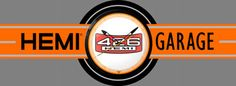 426 Hemi Garage Marquee Neon Sign. The best collector item that'll last a lifetime! www.garageart.com Garage Art, Buick Logo, Juventus Logo, Vintage Signs, Neon Signs, Logos, Decor, Vintage Plates, Decoration