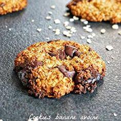Des cookies banane avoine chocolat, une pure gourmandise IGbas! Article sur mon blog rappelletoidesmets.fr :) #cookies #IGbas #healthyfood #banane #avoine #chocolat #blogueusefood #blogueusetoulousaine