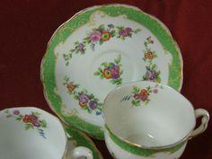 Royal Albert England China dinnerware Marlborough Pattern #7190 1 Cup and saucer