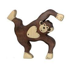 Holztiger Playing Wooden Monkey