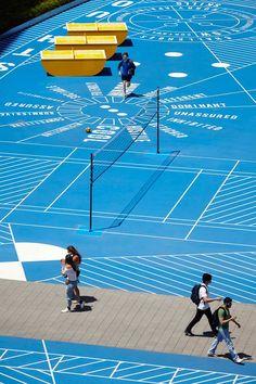 Caulfield Campus Green, Monash University, Melbourne, Victoria, Australia by Taylor Cullity Lethlean Landscape Architecture