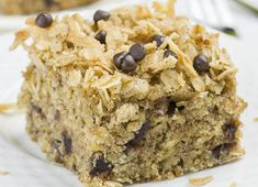 C'est le genre de gâteau qui fait aussi bien comme déjeuner, collation ou bien comme dessert! Très nourrissant, santé et savoureux! Easy Healthy Recipes, Sweet Recipes, Vegetarian Recipes, Loaf Cake, Breakfast Cake, Cookies Et Biscuits, Granola, Sugar Free, Banana Bread