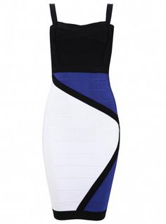 Fashion Sexy Strap Bandage Dress H539