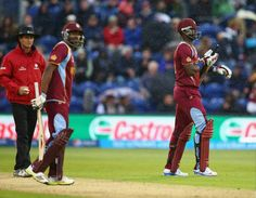 Cardiff, June 15 — Rain gods came to the rescue of South Africa as they secured their berth in the semifinals of the Champions Trophy after sharing points with the West Indies in the Group B encoun… Champions Trophy, West Indies, Cricket, South Africa, Daily News, Sports, Facebook, Hs Sports, Cricket Sport