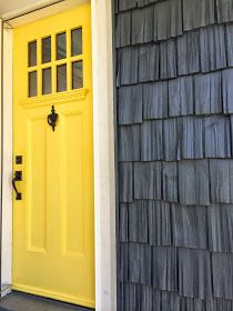 Benjamin Moore Amarillo With Westcott Navy