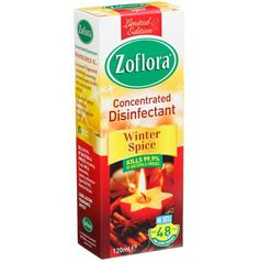 Zoflora Concentrated Disinfectant. Makes 4.5 litres. Features: kills 99.9% of bacteria & viruses, odours eliminated, all day freshness. 120ml - B&M Stores.