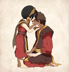 Avatar: Legend of Aang - Toph and Zuko