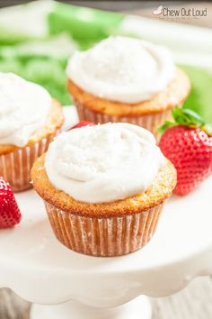One Bowl Yum-Yum Cupcakes (oil and dairy free!) - Chew Out Loud