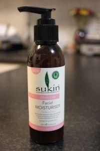 Ramblings of a Girl - 5 Minute Review on Sukin Sensitive Facial Moisturiser.