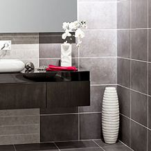 These Chimera Tiles will bring the natural look into your home. They have an atmospheric stone effect design; with a soft, blended pattern guaranteed to impress your friends and family. Available in four colourways, you are spoilt for choice! After a dark, modernistic look? Take a look at our Marengo Wall Tiles. For best results, alternate with these Marengo Releieve Cuadro Mosaic Effect Tiles.