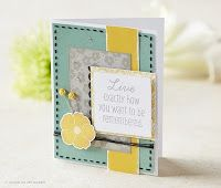 #CTMH #Card made with one of the Hostess Stamp Sets (Hold a gathering to earn this set!) www.LaurenKelly.ctmh.com