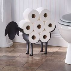 Wonderful 12 Creative Toilet Paper Holders You Will Want For Your Home