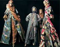 1970s Valentino dresses photographed by Barry Lategan.