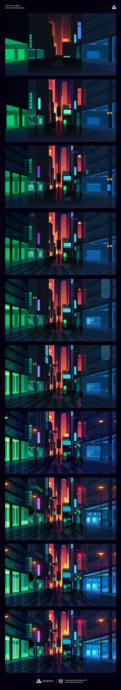 We truly love seeing the latest from our good friend Romain Trystram especially with his unique vibrant colours and illustrative style.