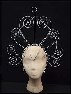 Samba Carnival Showgirl Headdress Frame - Make Your Own in Clothes, Shoes & Accessories, Fancy Dress & Period Costume, Accessories, Hats & Headgear Samba Costume, Costume Hats, Costume Makeup, Mardi Gras Costumes, Carnival Costumes, Steampunk, Fantasias Halloween, Period Costumes, Halloween Cosplay