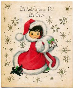 vintage Christmas - girl with puppy Vintage Christmas Images, Old Christmas, Old Fashioned Christmas, Christmas Scenes, Retro Christmas, Vintage Holiday, Christmas Pictures, Christmas Girls, Vintage Valentines