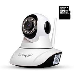 Special Offers - Wireless WiFi IP Security Camera720P Indoor Baby Monitor Plug/Play15m AP HotspotBuilt with16GB Micro SD Card2 Way Audio and Microphone15 Days Recording Storage - In stock & Free Shipping. You can save more money! Check It (June 06 2016 at 11:45PM) >> http://motionsensorusa.net/wireless-wifi-ip-security-camera720p-indoor-baby-monitor-plugplay15m-ap-hotspotbuilt-with16gb-micro-sd-card2-way-audio-and-microphone15-days-recording-storage/