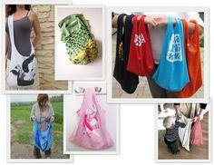 DIY Tshirt bags
