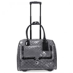 Patent Quilted Laptop Rollerbrief - Laptop Bags