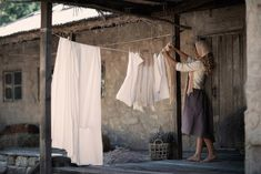 Death to Feminism: Photo Laundry Art, Bathroom Accesories, Vintage Farm, Clothes Line, Homemaking, Wardrobe Rack, Beautiful Pictures, Beautiful Things, Simple