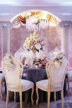 wedding seating in style!