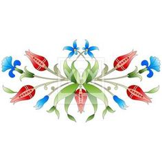 Ottoman art flowers twenty two