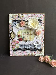 craftingworld: LIFE IS BEAUTIFUL CARD