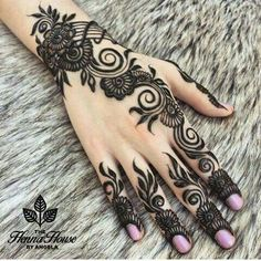 Putting Mehndi on their hands and getting all ready for the evening pooja is our custom. Here are the top 20 Mehndi Designs for Karwa Chauth.