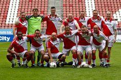 Wedstrijdje meedoen met (oud) FC Utrecht in de Galgenwaard