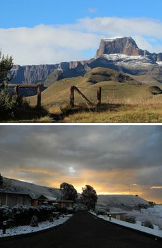 Fairty tale winters in the Free State  #southafrica #winter #snow #snowonthemountains