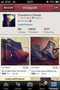 FOLLOW MY POSHMARK CLOSET FOR UNIQUE FINDS AT AMAZ PRICES! LEVIS, PLATFORMS, VINTAGE TEES, VINTAGE COACH, FREE PEOPLE, MOTO BOOTIES, ECT. @CMPELL1   ;)