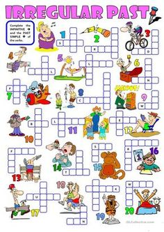 IRREGULAR PAST - a crossword