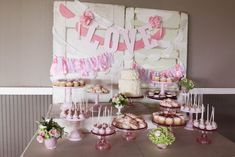 Sweetheart Pink Dessert Table Sweetheart Pink Dessert Table, Hidden Meadows Snohomish – Jenny Cookies
