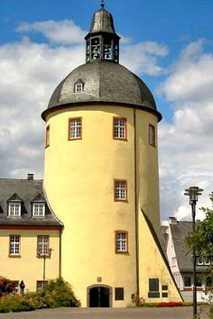Old tower in the city of Siegen, North Rhine-Westphalia - Germany