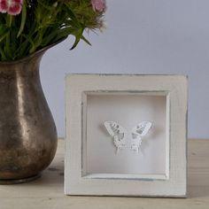 framed swallowtail butterfly papercut by jennifer giles | notonthehighstreet.com