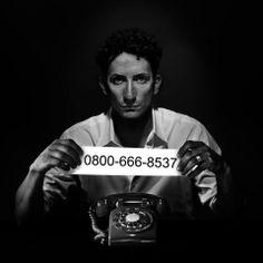 """Muestra fotográfica """"Hagamos visible lo invisible. Denunciá la violencia contra la mujer"""""""