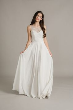 Sally Eagle Wedding Dress Collection 2017 Elsie. front