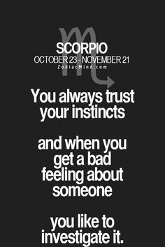 Scorpio man interested