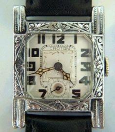 Art Deco 1920's Croton Watch.