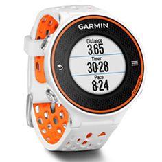 Garmin+Forerunner+620+GPS+Watch+(White+/+Orange)