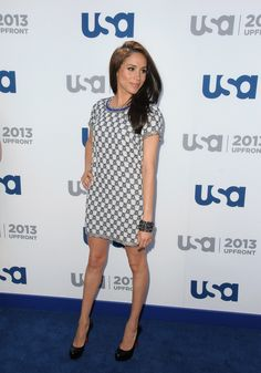 Meghan Markle At The 2013 USA Upfront