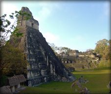 Tikal - the most impressive Mayan ruins we've seen!