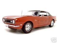 1968 Chevrolet Camaro Z/28 Coupe Bronze 1/18 Diecast Model Car by Maisto