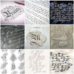 Beautiful calligraphy